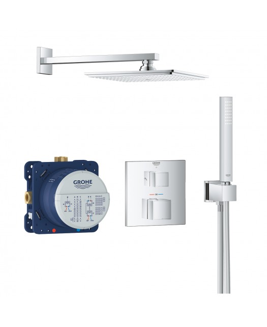 Набор для комплектации душа GROHTHERM CUBE (GROHE) С RAINSHOWER ALLURE 230