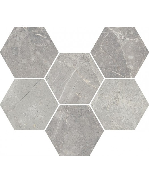 Мозаика Charme Evo Floor Project Imperiale Hexagon патинированный (Italon) Россия 29х25