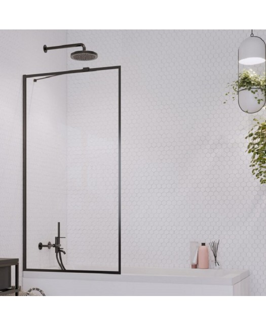 Штора для ванны Idea Black PNJ 100 Frame (Radaway) 1000x1500